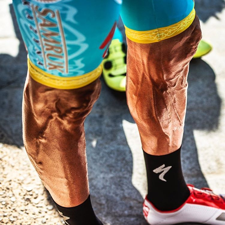 Veins Pump Up Cycling Legs Work Cycling Outfit