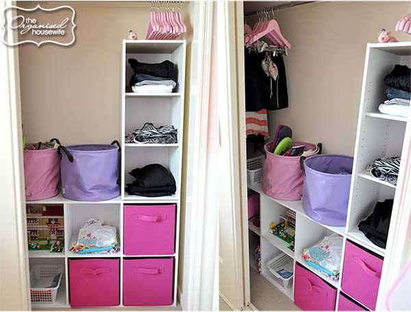 Kids Bedroom Wardrobe organised kids wardrobes | barneklær, jenter og skap