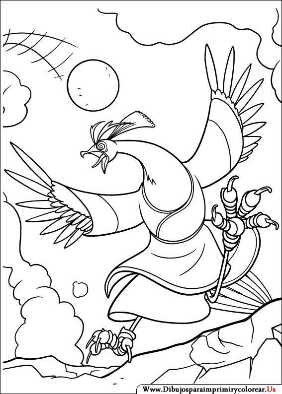Dibujos de Kung Fu Panda para Imprimir y Colorear | Shibumi ...