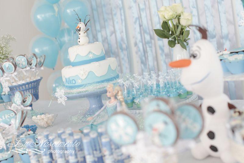 Aniversrio tema frozen lunascimentocom frozen cakes and party