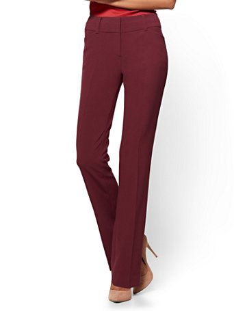 Barely Bootcut Pant Modern Fit Double Stretch 7th
