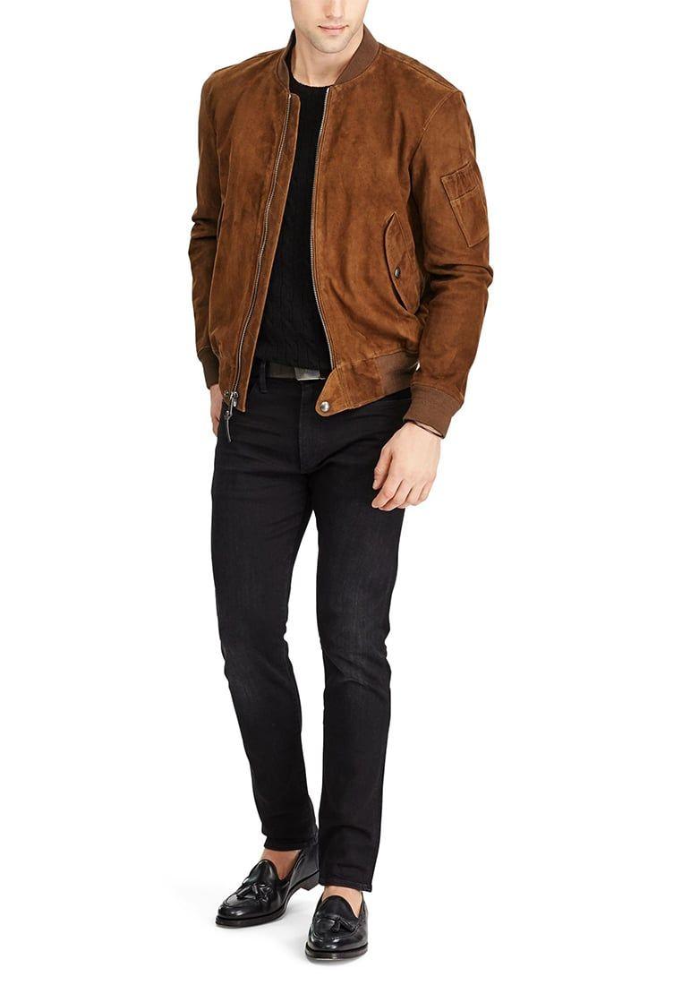¡Consigue este tipo de chaqueta de cuero de Polo Ralph Lauren ahora! Haz  clic cab38d225f3