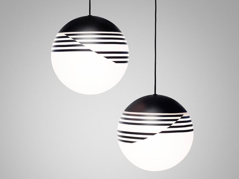 As the name suggests the lee broom optical pendant light was inspired by the
