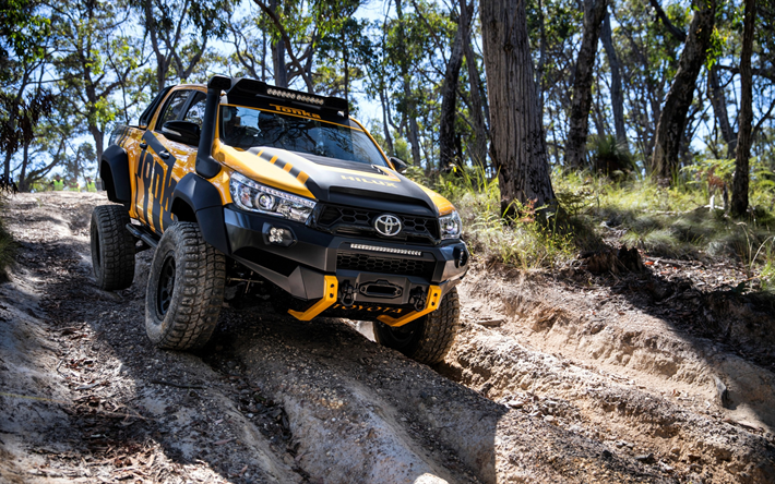 Download Wallpapers Toyota Hilux Tonka Concept 2017 Suv