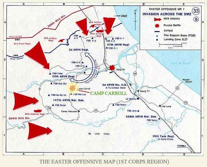 Vietnam War Journal Terry D Map Of The North Vietnamese Easter