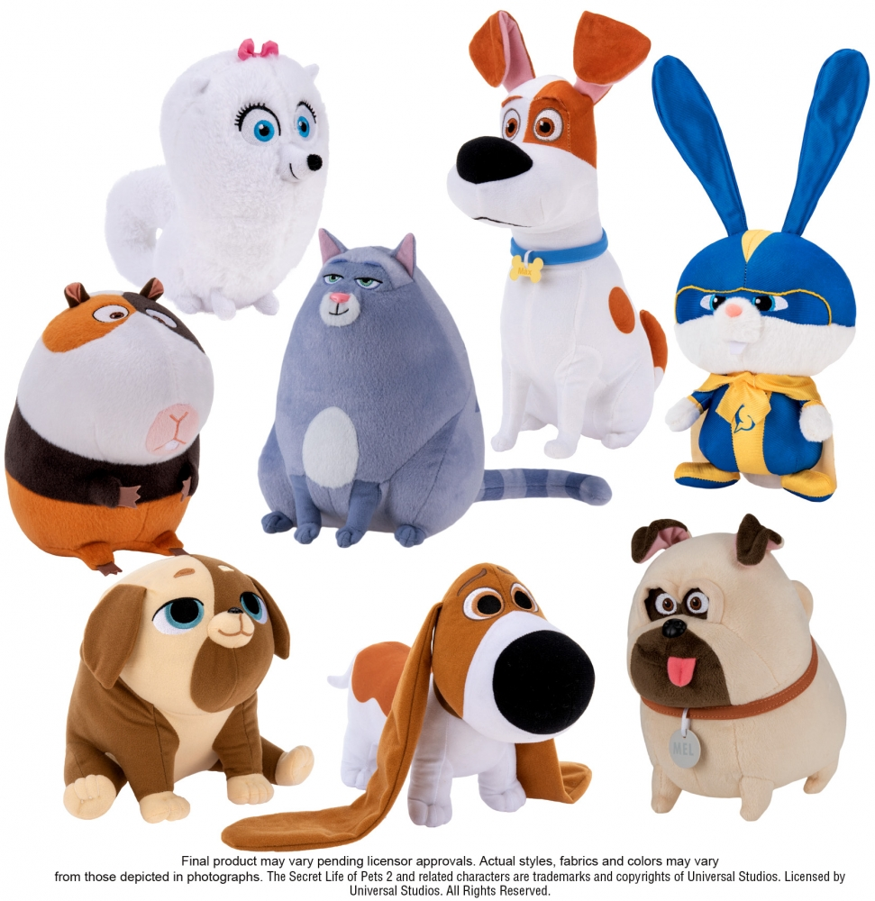 Secret Life Of Pets 2 Movie Plush Available In 6 In 8 In 10 In 12 In Hms Monaco 2 Movie Secret Life Secret Life Of Pets