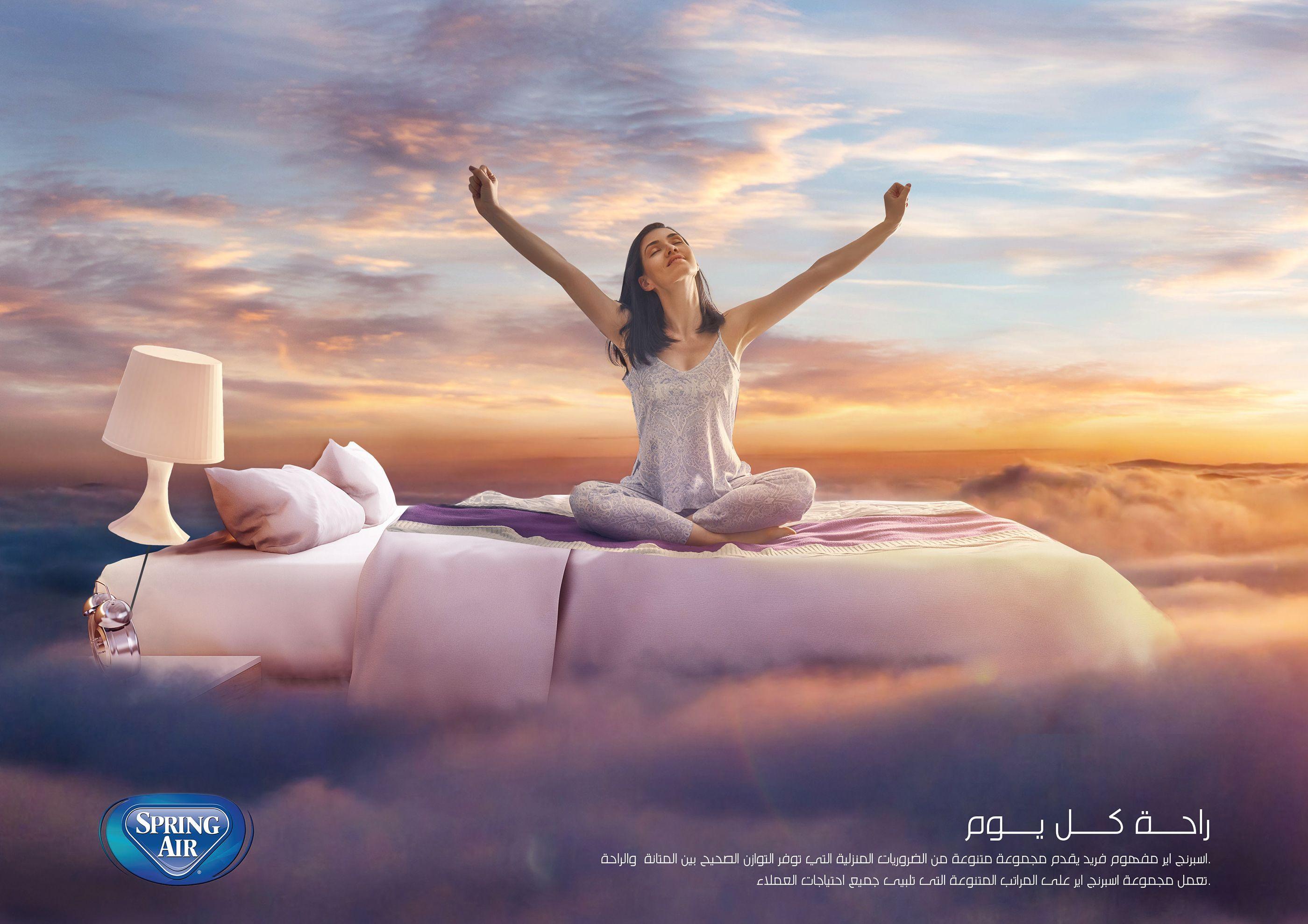 Spring Air mattress on Behance springairmattress Spring