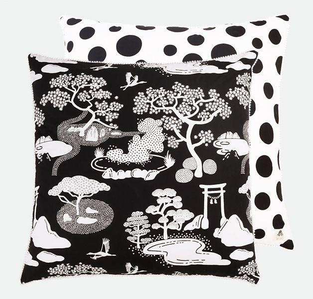 Zen Onsen Garden Floor Cushion
