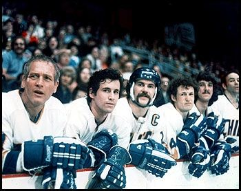 One Of The Greatest Hockey Movies Sports Movie Sport Hockey Slap Shot