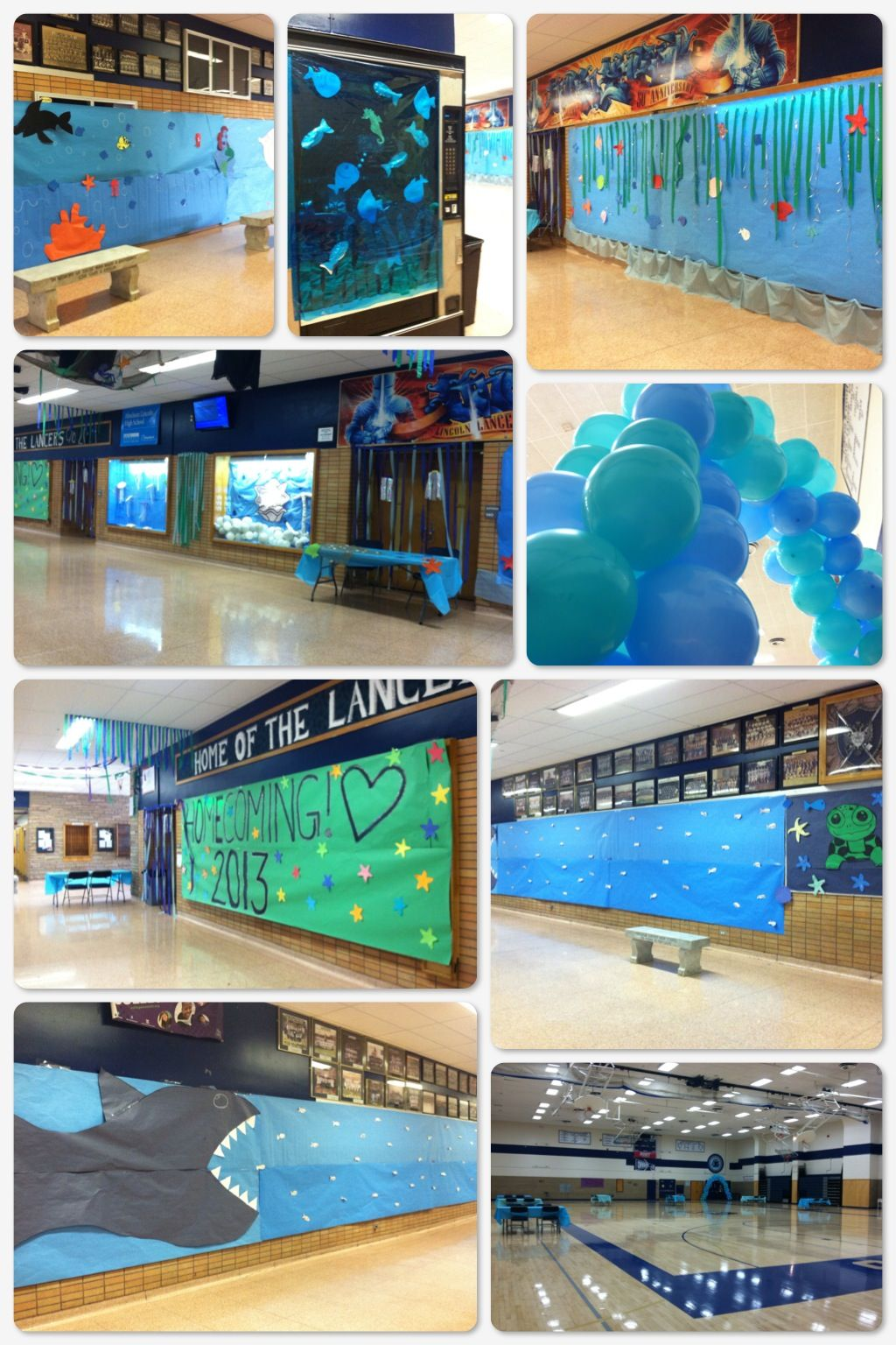 2d4f1dc3acb Under the Sea Homecoming decorations
