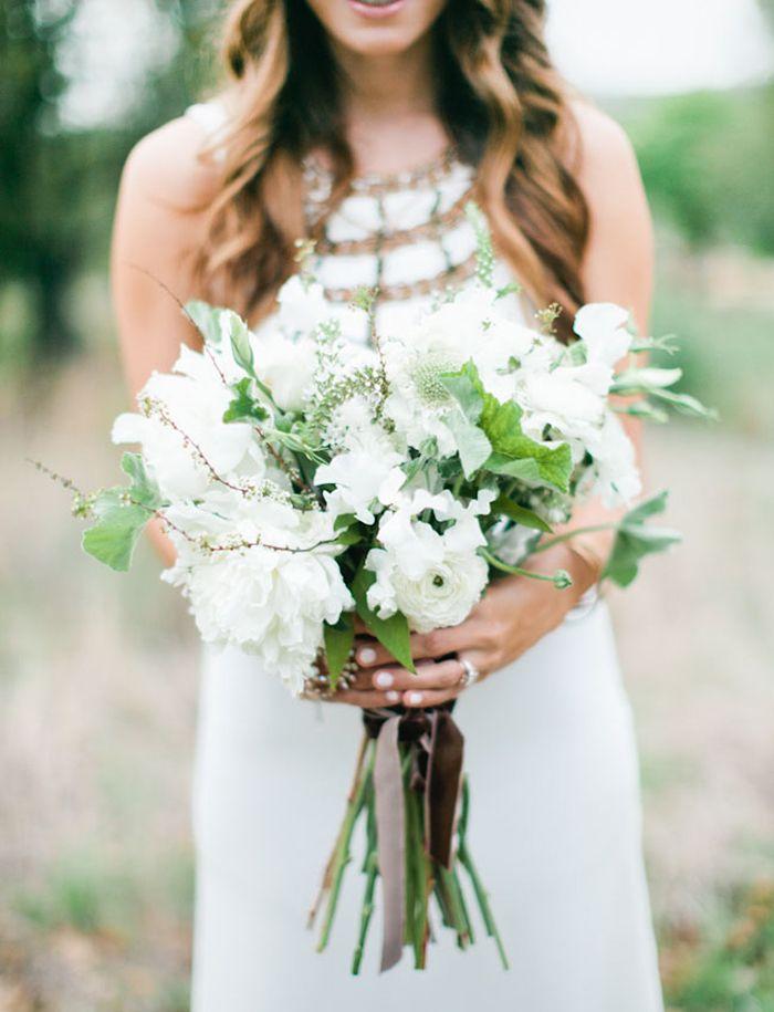 Frische Weisse Strausse Weisse Blumenstrausse Blumenbouquets Wedding