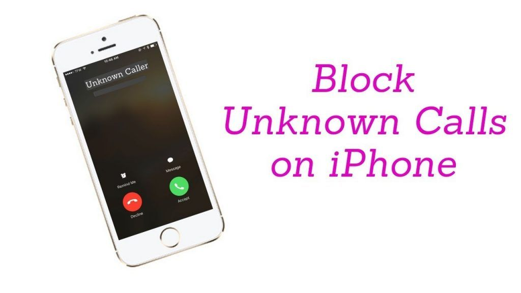 How to block no caller id on iphone caller id settings