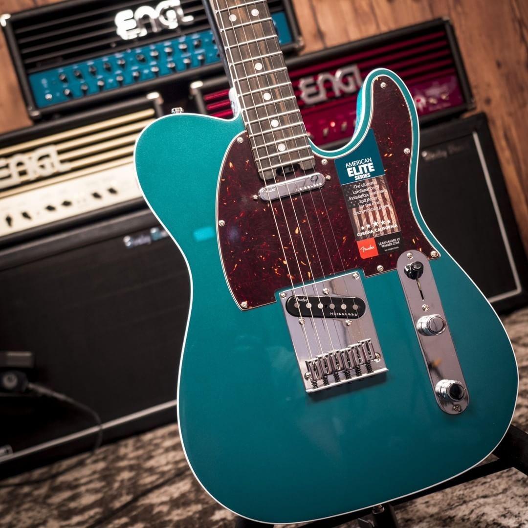 Fender AM Elite Telecaster EB OCT #fender #telecaster ...