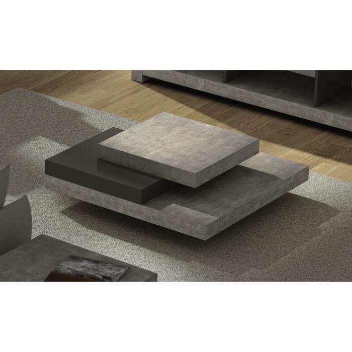 Blade table basse facon beton table basse pinterest for Table basse beton cire