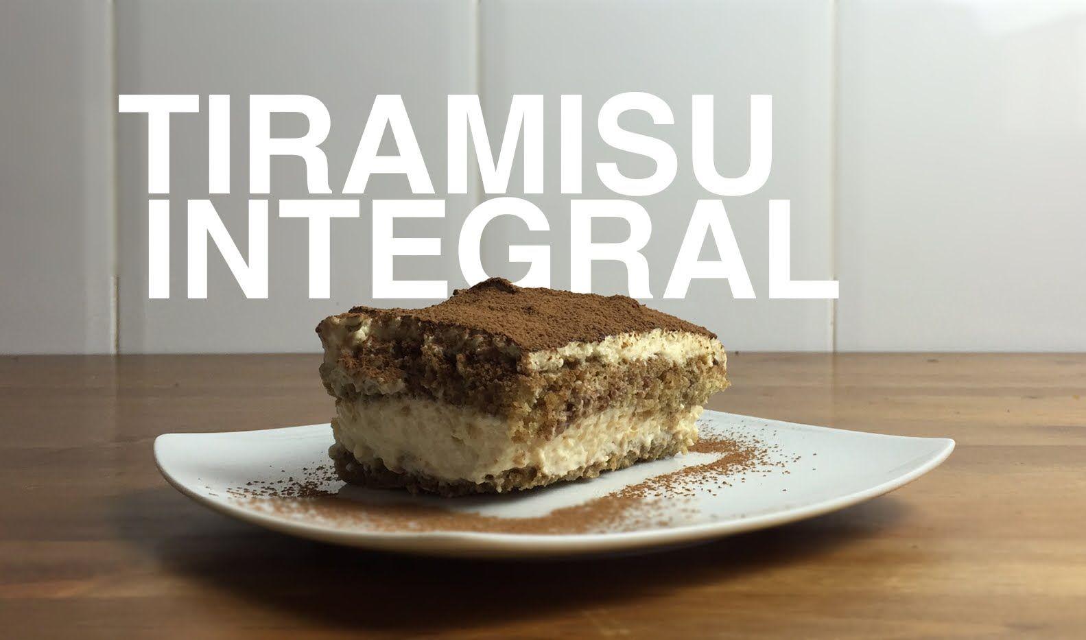 Tiramisu integral | Recetas Clean Eating | FitFood
