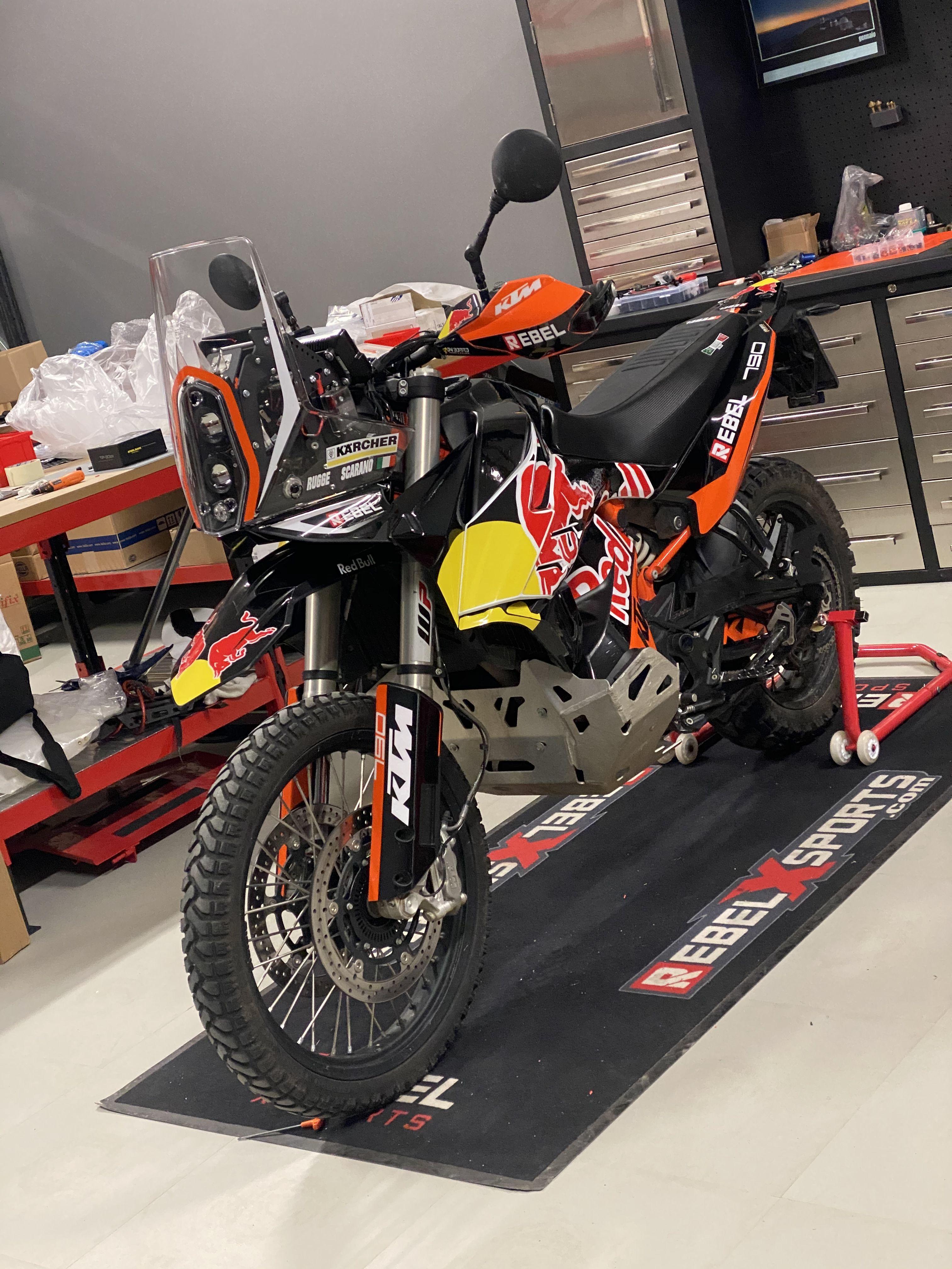 Ktm 790 Rally Kit In 2021 Ktm Ktm Adventure Adventure Bike