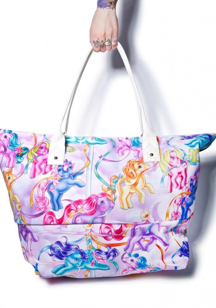 My Little Pony Beach Bag Purple Tote From Iron Fist