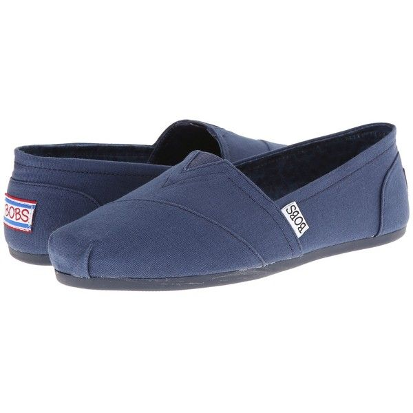 BOBS from SKECHERS Bobs Plush - Peace Love Women's Flat Shoes ($40) ❤ liked