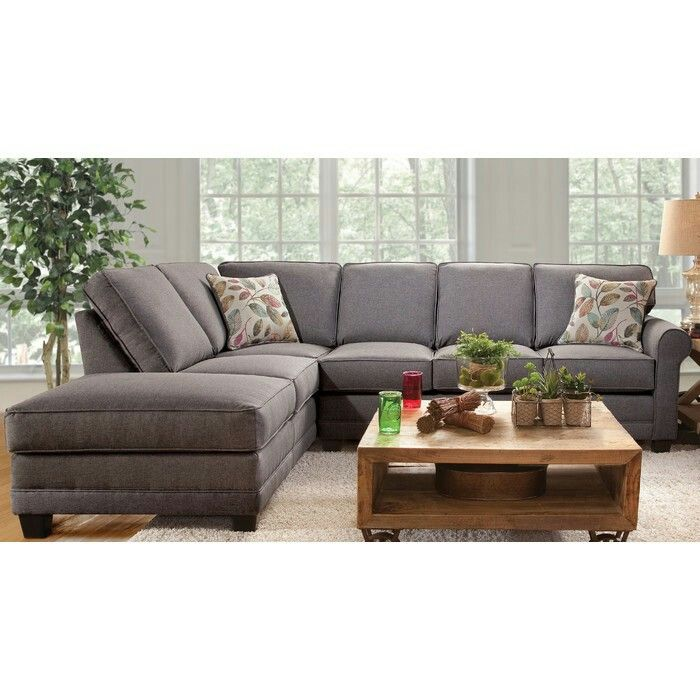 Cheap Studio Apartments Reno: Serta Upholstery Galena Sectional By Charlton Home $805.98