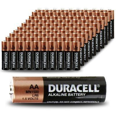 Duracell Coppertop Mn1500 Aa Batteries 100 Pack Count Http Www Rekomande Com Duracell Coppertop Mn1500 Aa Batteries 100 P Duracell Aa Batteries Batteries