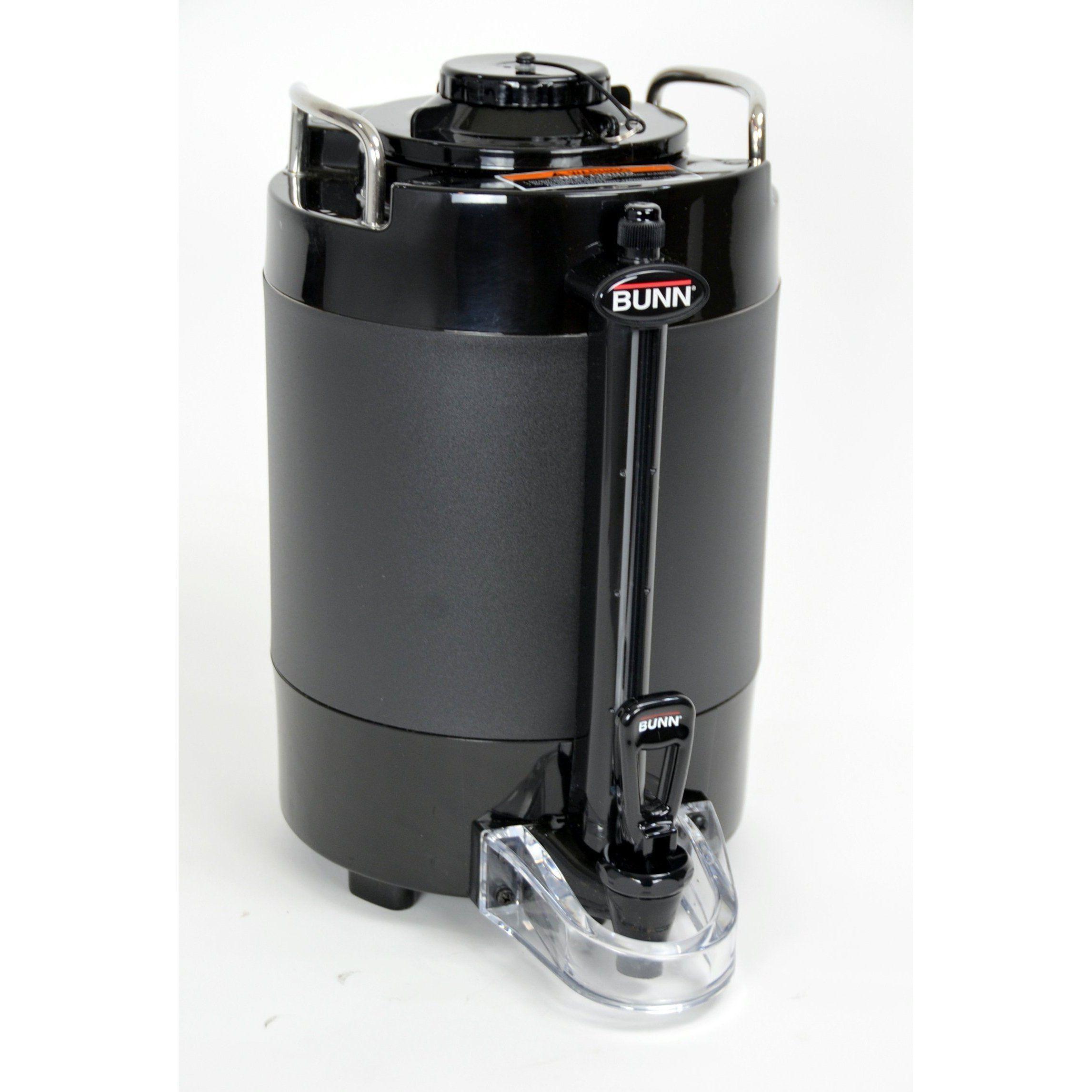 Bunn 44050.0051 TF 1.5 Gal Black ThermoFresh Coffee Server Dispenser NEW OPEN BOX #coffeeserver Bunn 44050.0051 TF 1.5 Gal Black ThermoFresh Coffee Server Dispenser NEW OPEN BOX #coffeeserver