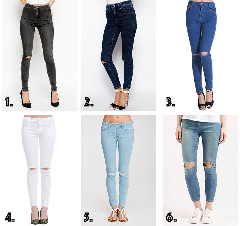 1629db0dfbcad jeans-rasgados-donde-comprar Pantalones Rotos Rodilla
