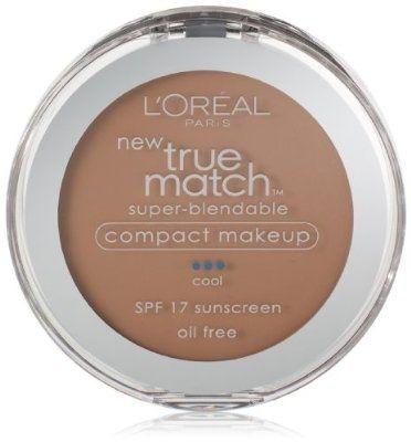 cool L'Oreal Paris True Match Super-Blendable Compact Makeup, Shell Beige, 0.30 Ounces - For Sale
