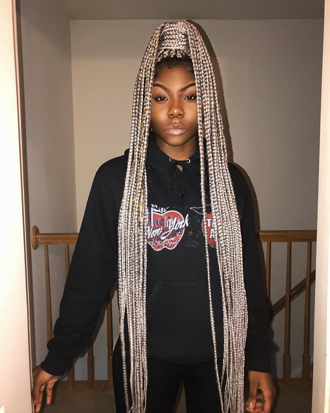 Thinking Of Grey Braids Here S What It Really Looks Like On 9