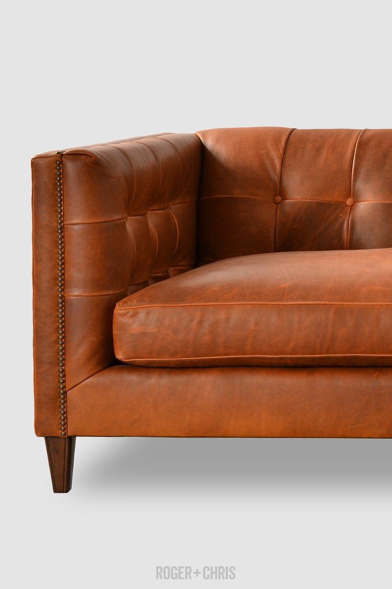 Mid Century Modern Tuxedo Sofas Armchairs Sectionals Atticus