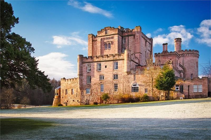 Dalhousie Castle The Best Scottish Wedding Venues