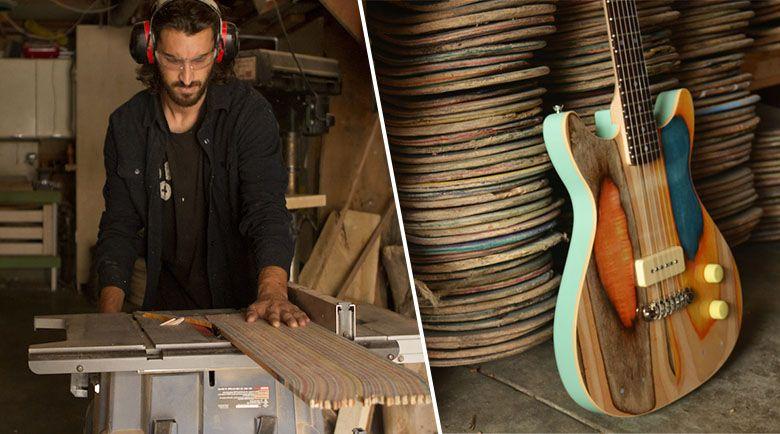 que faire de ses vieilles planches roulettes usag es ou. Black Bedroom Furniture Sets. Home Design Ideas