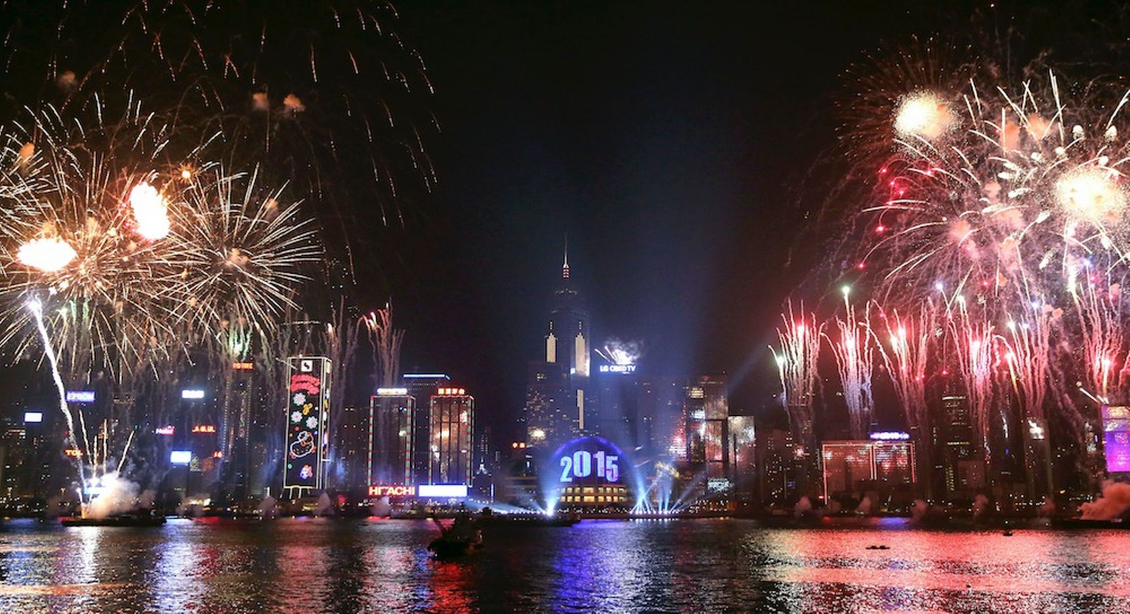 Watch Tokyo's New Year 2015 fireworks New year's eve