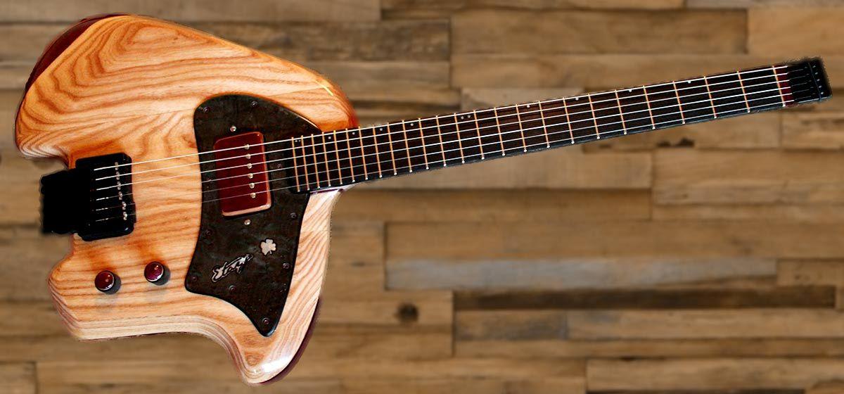 Guitarra el ctrica de luthier etayo klein etayo luthier for Guitarras de luthier