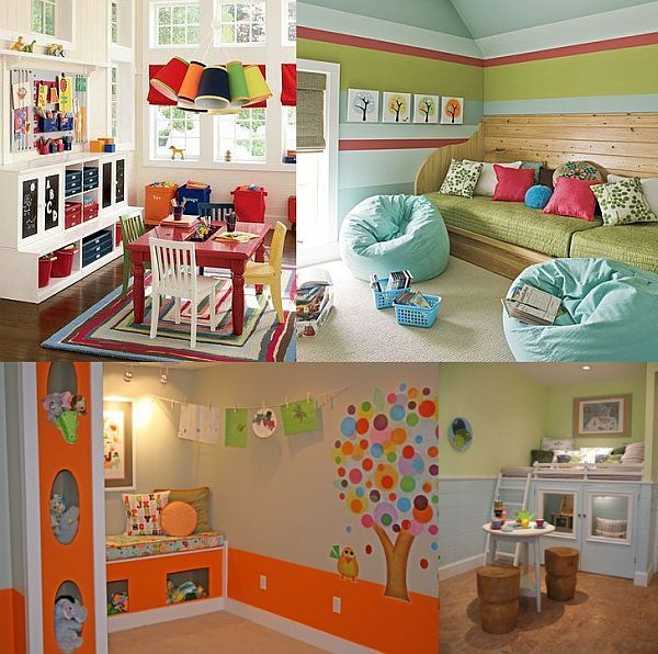 Creating A Playroom Out Of A Small Space Playroom Ideas