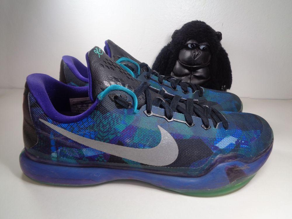 Details About Nike Kobe X Peach Jam Emerald Glow Purple Sz Basketball Shoes 705317 305 New Basketball Shoes Kobe Shoes Nike