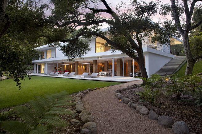 Le Magnifique Pavillon De Verre Par L'architecte Steve Hermann