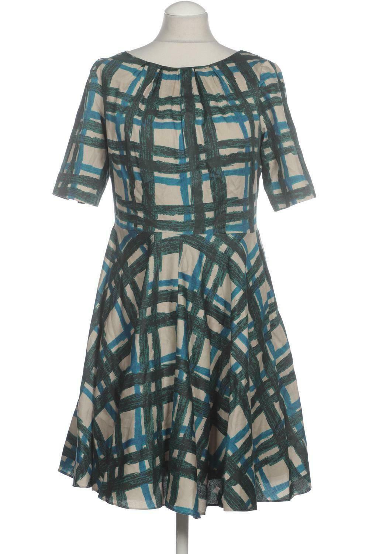 Boden Kleid Damen Dress Damenkleid Gr. DE 19 Baumwolle Seide grün