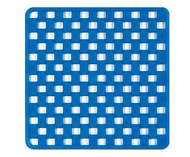 Tappeto doccia in elastomero Tip Tap blu
