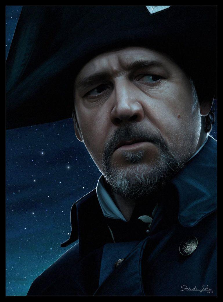 Les Miserables 01 Javert By Sheridan J On Deviantart With