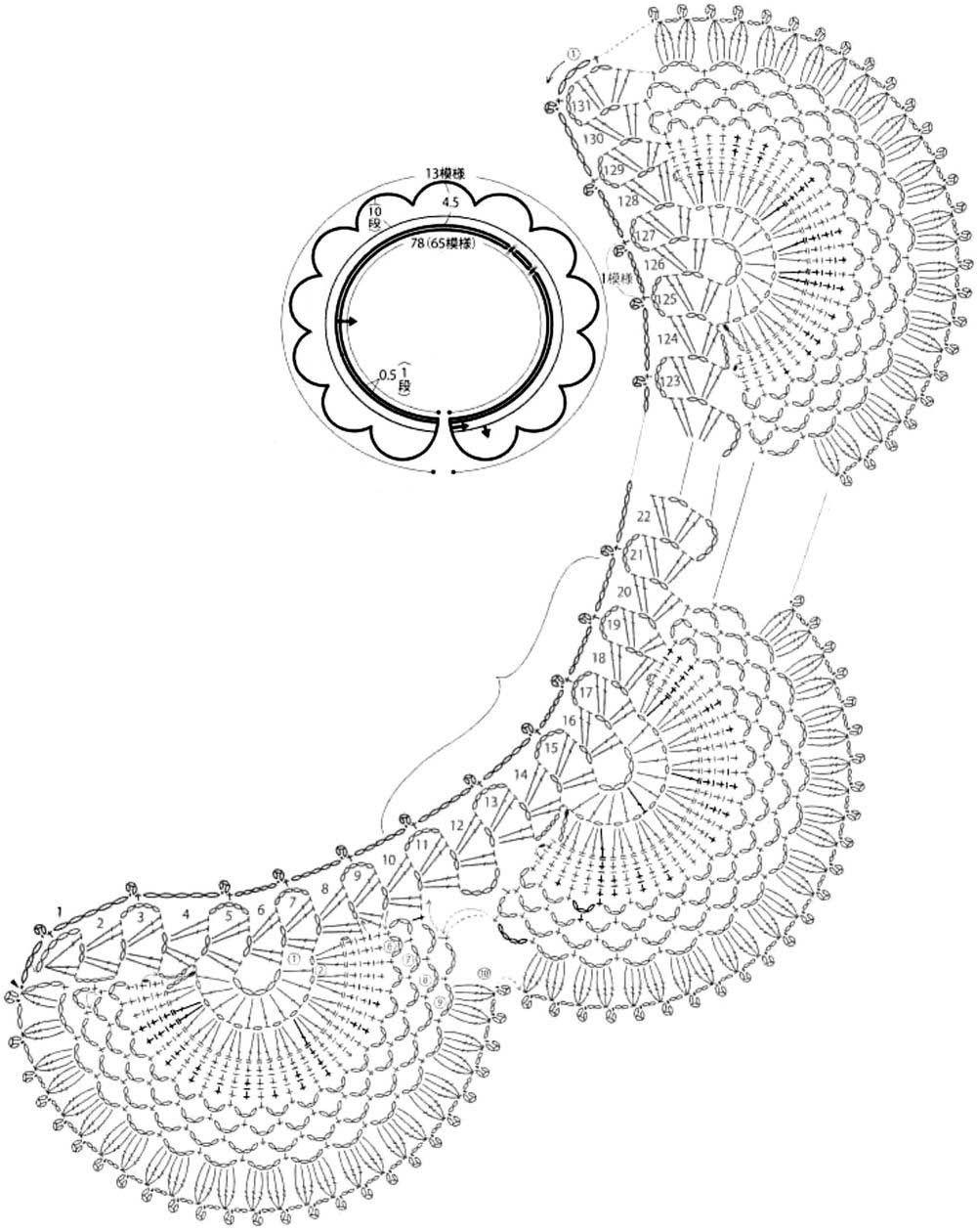 Pin de Dana Blue en CROCHET COLLAR | Pinterest | Bikini de ganchillo ...