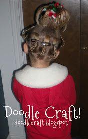 Cindy Lou Who...hairdo!