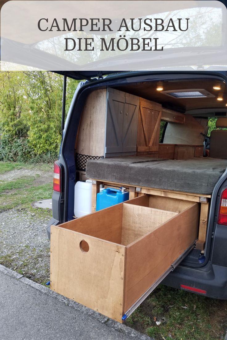 Photo of Die Möbel für den Camper aus Holz selber bauen.