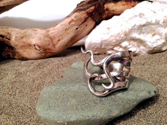 Tentacle Ring ~ Fork   jewelry