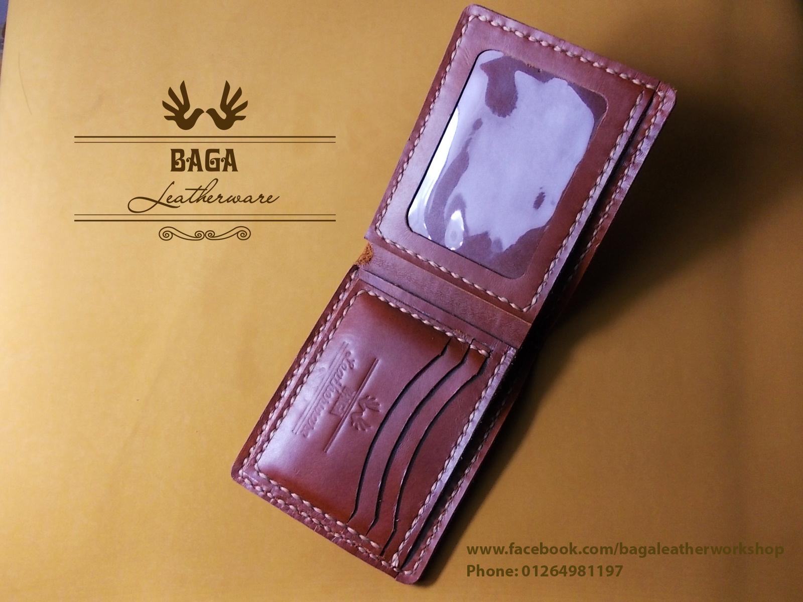 Baga leather workshop, (Man wallet)