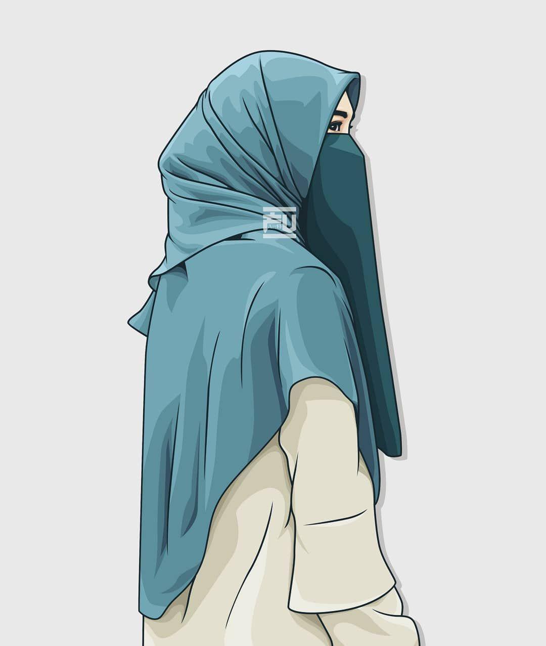 No Photo Description Available Hijab Cartoon Islamic Girl Anime Muslim