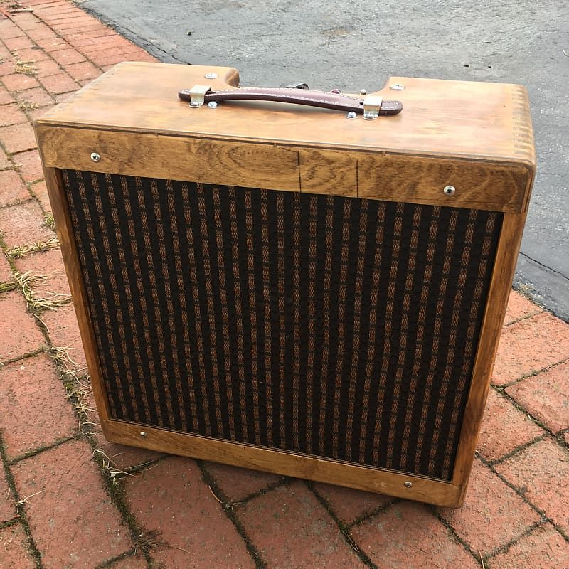 5f1 Champ Amp Hand Wired Clone W 10 Vintage Oxford Reverb Speaker Amp Vintage