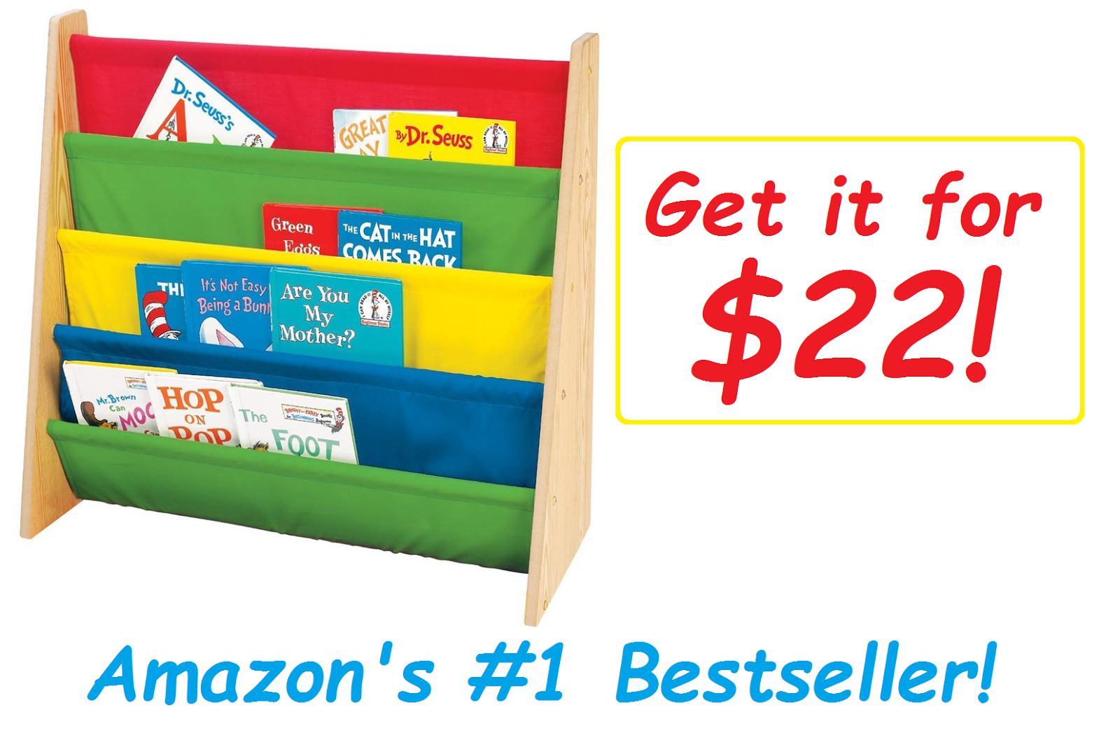 get the 1 besting tot tutors book rack for only 22 49 lowest - Tot Tutors Book Rack Primary Colors