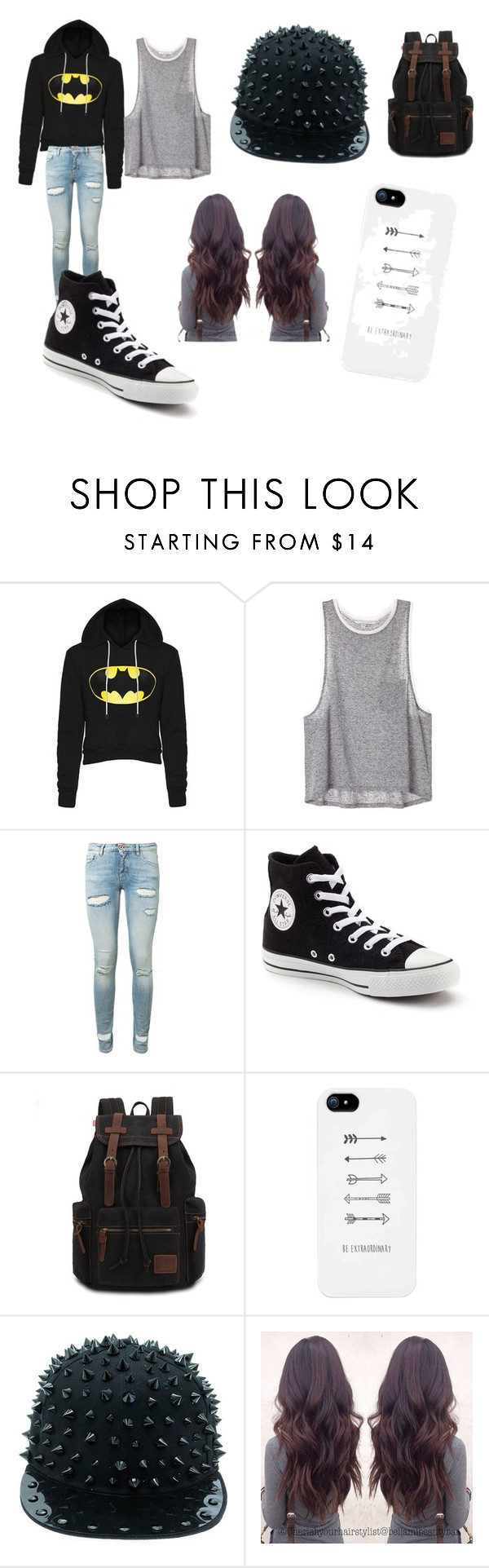 """movies"" by wwediva12345 ❤ liked on Polyvore featuring beauty, Off-White and Converse"