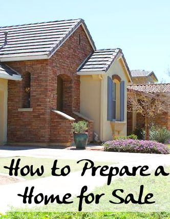 How to Prepare a Home for Sale | Homeowner Tips | Pinterest | House ...