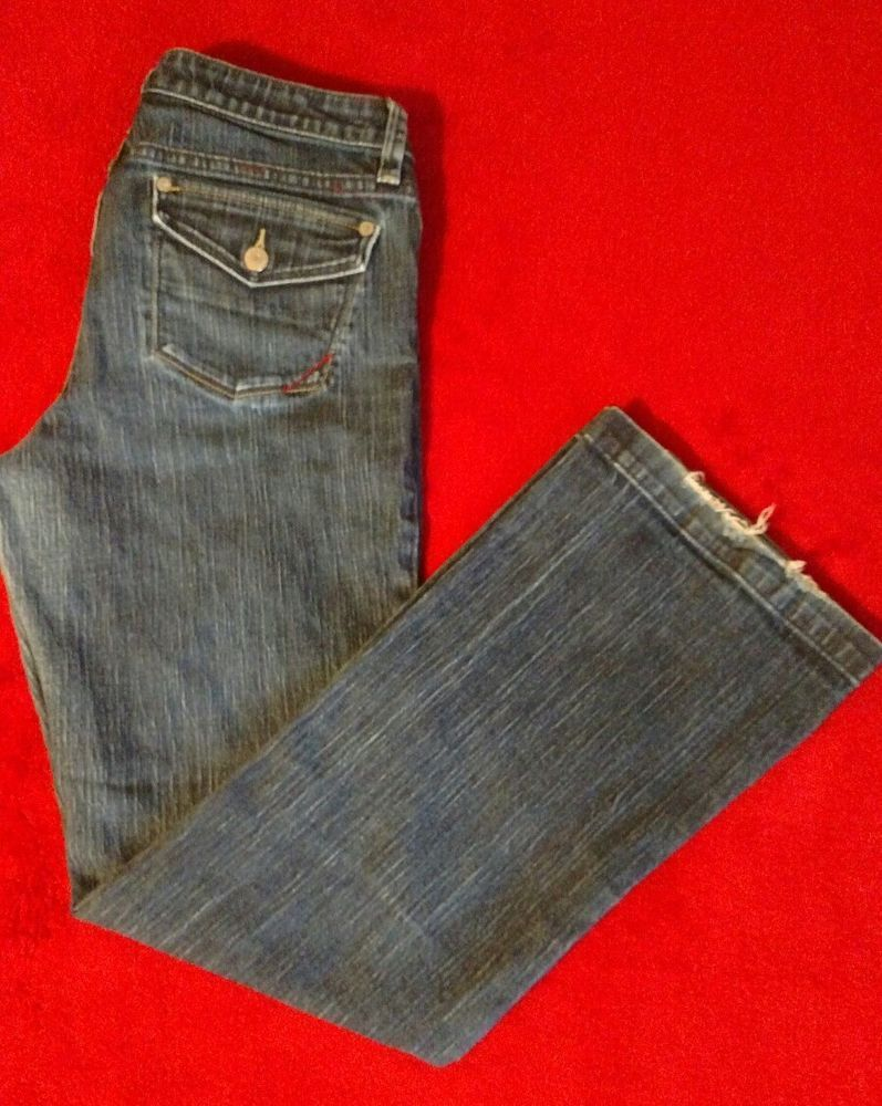 Banana Republic Women's Urban Wide Leg Blue Jeans Size 6 #BananaRepublic #WideLeg